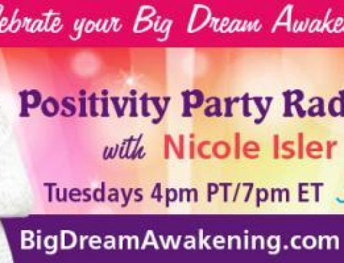 Positivity Party Radio with Nicole Isler: It's Time To Sparkle & Shine with Krissy Winchester