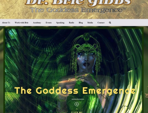 Dr. Brie Gibbs – Website Design